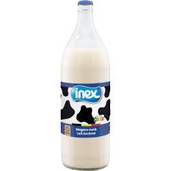 Lait écrémé verre Inex 1l