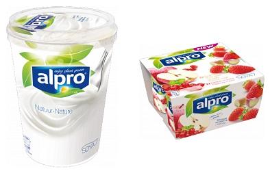 Nieuwe plantaardige alternatieven yoghurts