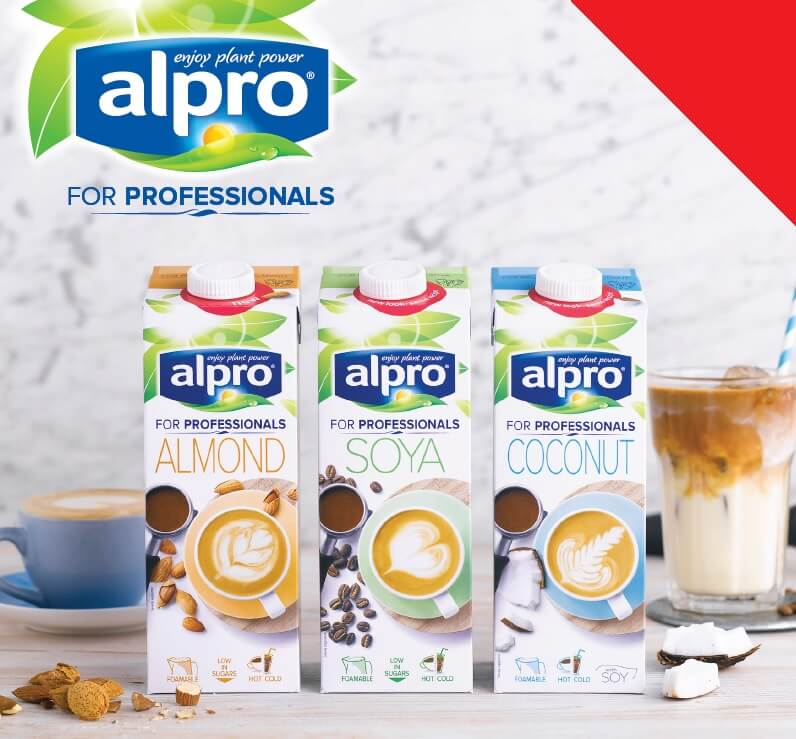 Alpro Almond Professionals