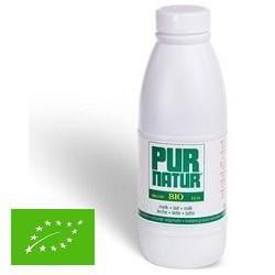 Lait entier bio Pur Natur plastique 1l
