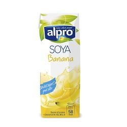 Alpro soja banane UHT 1/4l
