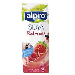 Alpro soja fruits rouges UHT 1/4l