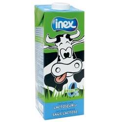 Lait 1/2 écrémé sans lactose UHT Inex 1l