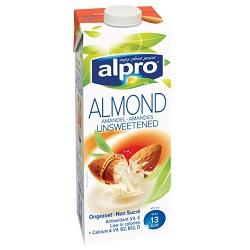 Alpro amandel ongezout UHT 1l