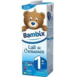 Lait croissance 1+ Bambix 1l