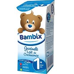 Lait croissance 1+ Bambix 1/5l