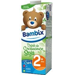 Drink croissance soja 2+ Bambix 1l