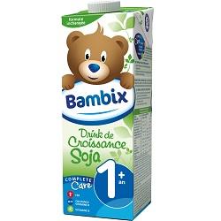 Drink croissance soja 1+ Bambix 1l