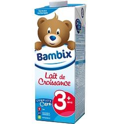 Lait croissance 3+ Bambix 1l