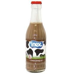 Lait choco 1/2 ecreme sterilise verre Inex 1/5l
