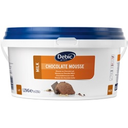 Mousse au chocolat lait Debic 2,5l