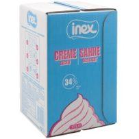 Crème sucrée 34% UHT Inex 5l