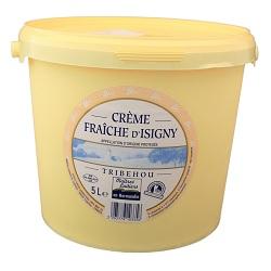 Crème fraîche 40% Isigny 5l