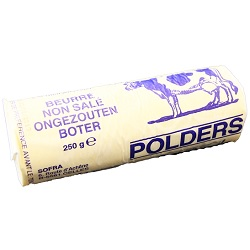 Beurre rouleau Polders 250g