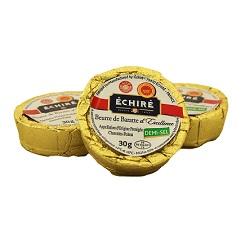 Beurre 1/2sel Echiré 30g x100