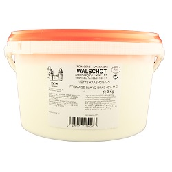 Fromage blanc gras Walschot 3kg