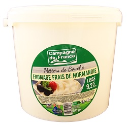 Fromage blanc gras CDF 5kg