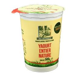 Yoghourt entier nature 1/2l
