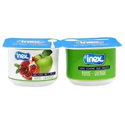 Yoghourt pomme/grenade Inex 100g