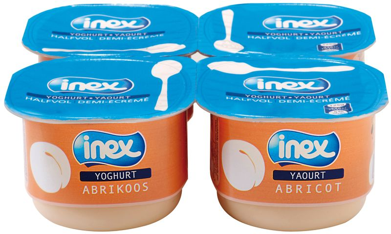 Yoghourt aromatisé abricot Inex 125g