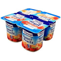 Yoghourt fruits Nova 125g