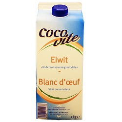 Blanc d'oeufs liquide Cocovite 2kg