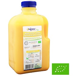 Jaune d'oeufs liquide bio Ovipac 1kg