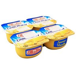 Crème vanille Elle&Vire 125g
