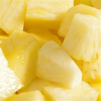 Ananas blokjes 1kg