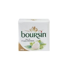 Boursin ail & fines herbes 16g x90