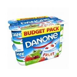 Danone yoghourt maigre fruits 125g