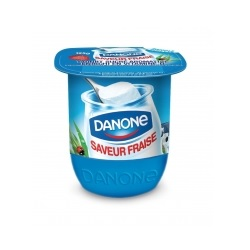 Danone aromatisé 125g