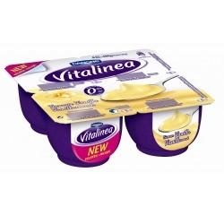 Danone vitalinea crème vanille 120g