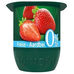 Danone activia 0% fraise 125g