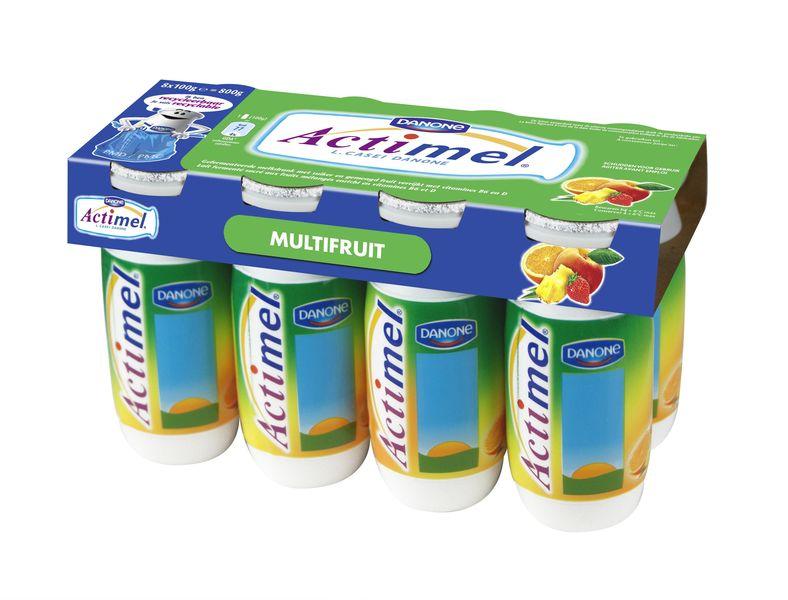 Danone actimel multifruits 100g