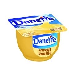 Danone danette vanille 125g