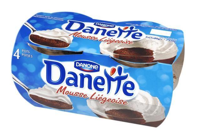 Danone danette liégeois 80g