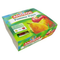 Andros pomme/poire 100g