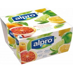 Alpro citron vert-citron/orange sanguine 125g