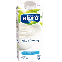 Alpro mild&creamy nature 750g