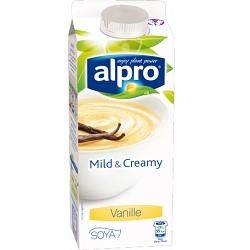 Alpro mild&creamy vanille 750g