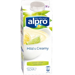 Alpro mild&creamy citron 750g
