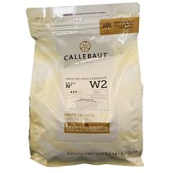 Chocolat blanc callets W2 2,5kg