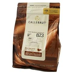 Chocolat lait callets 823 2,5kg