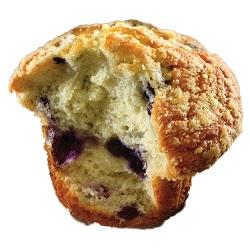 Muffin myrtille crumble Dawn 124g x24