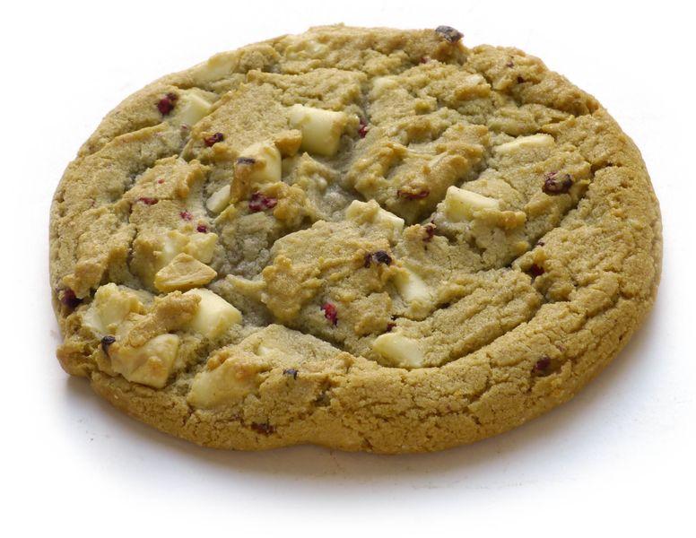 Cookie choco blanc/framboise Dawn 76g x30