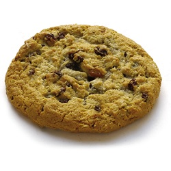 Cookie non-cuit avoine/raisin Dawn 80g x80