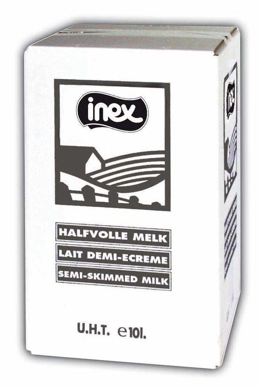 Halfvolle melk Inex BIB 10l