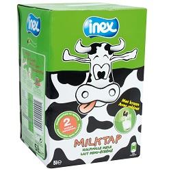 Halfvolle melk Inex BIB 5l