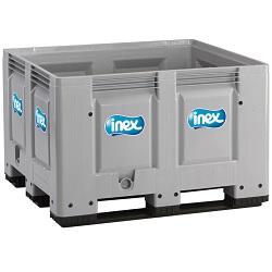 Halfvolle melk Inex container 420l